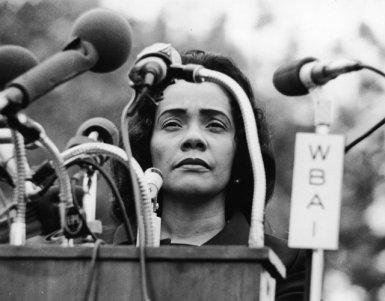 Coretta Scott King Peace Rally