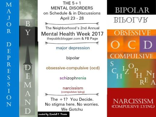 5 Mental Disorders