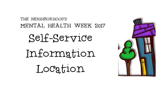 Mental Health Week 2017 Information