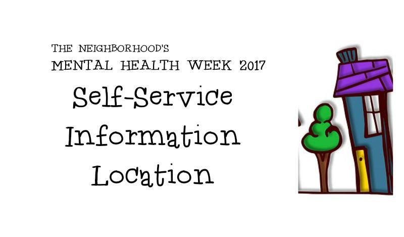Mental Health Week 2017 Information